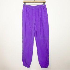 [Vintage] Purple 90s Windbreaker Track Pants